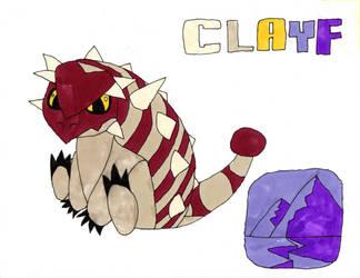 Clayf - Euoplocephalus by Aubrie1234