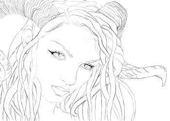 Celeyst real sketch by CarusimaHikura