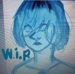 wip:blue pearl by Zimoshi