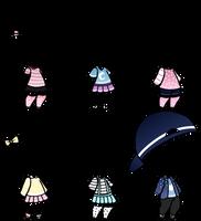CLOSED- Adopt Dress 15 by Paudrawzz