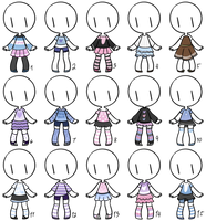 CLOSED- Adopt Dress 20 by Paudrawzz