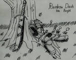 Rainbow Dash the Knight by Tanaka-Sentaro