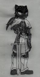 Sentaro the Dark Swordman by Tanaka-Sentaro