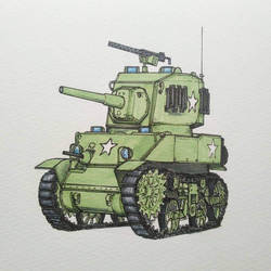 M5 Stuart by ThomChen114