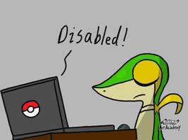 Snivy got disabled by lSnivyl
