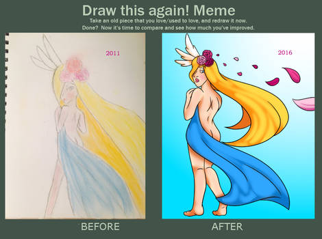 Draw this again meme by chisanaAii