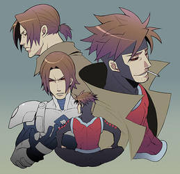 X-MEN:Gambit 7 by togatsuko