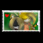 Cry x Jumbie Stamp :hopefully fixed: by BlueStarNights