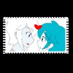 Diamond x Akoya Stamp by BlueStarNights