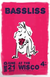 Bassliss flyer. (commission) by tmray