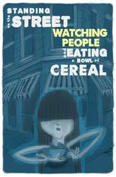 cereal girl by tmray