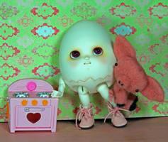 Green egg and ham by daasper