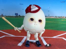 Egg batter batter! by daasper