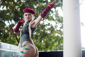 Cammy - Street Fighter cosplay by MaddicPhotography