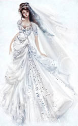 Kate Middleton Wedding Dress by carlylyn