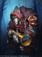 Forlorn Stalker - Hearthstone by StaplesART