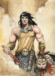 Conan the Avenger (Portfolio Piece) by dimitriskoskinas