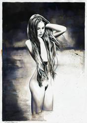 Nude No.8 (SOLD) by dimitriskoskinas
