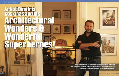 Interview for Politismos magazine by dimitriskoskinas