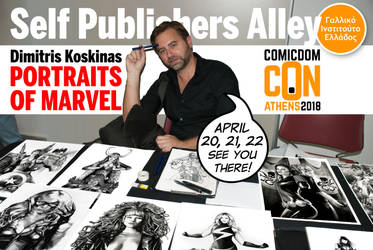 Comicdom Con Athens 2018 by dimitriskoskinas