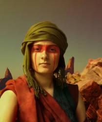 Nomad of Ambiguous Origin by WizardOfMoz