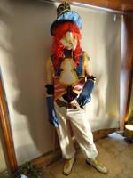 The Masked Swordsman by kilted-katana