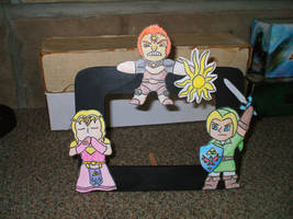 Chibi Triforce Bearers by kilted-katana