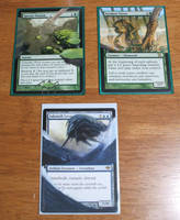 Card Alters: 3rd Batch by kilted-katana