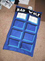 TARDIS Pillowcase by kilted-katana