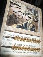 3D Akroma, Angel of Wrath by kilted-katana