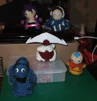 Crocheted Chibi Revival by kilted-katana