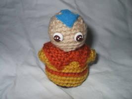 Chibi Crocheted Aang by kilted-katana
