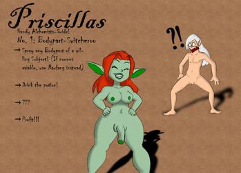 Priscillas Alchemy Guide: Bodypart-Switcheroo by powermogri