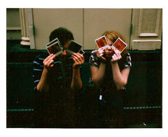 Bug Faced Polaroid People by luciole-emprisonnee