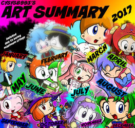 2017 Art Summary by CYSYS8993
