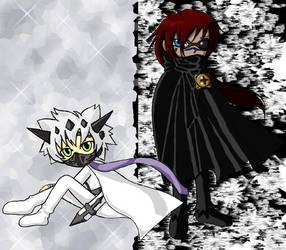 Kumo and Kaze by ramzi-chan