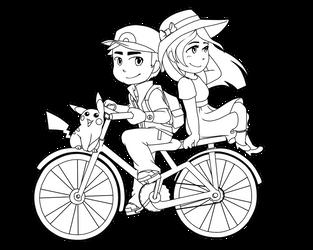 Pokemon Bike Rides by zixmix