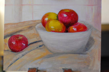 Apples in bowl wip by kc200