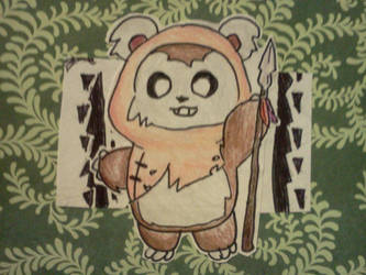 Fat Ewok by jcpeters726