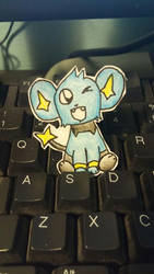 Keyboard Shinx by jcpeters726