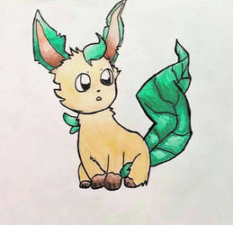 Leafeon~ by jcpeters726