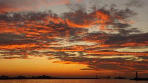 Sunset at Kadikoy 31 by Navvyblue