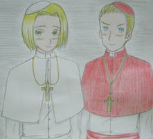 Holiness - Papiez! Polska, Kardinal! Deutschland by littlegirlinsmalwrld