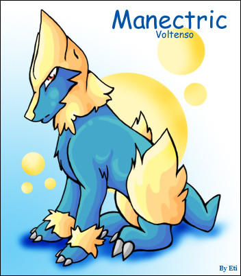 Manectric by xETIx