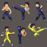 Bruce Lee by HendryRoesly