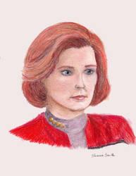 Kathryn Janeway by ElorieAlton