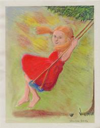 Girl in a Swing 1 by ElorieAlton