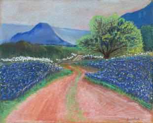 Texas Bluebonnets by ElorieAlton