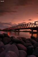 Barombong Bridge by HAPhotography17