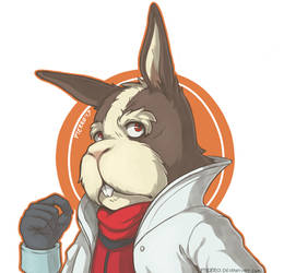 Peppy Hare. by pterro
